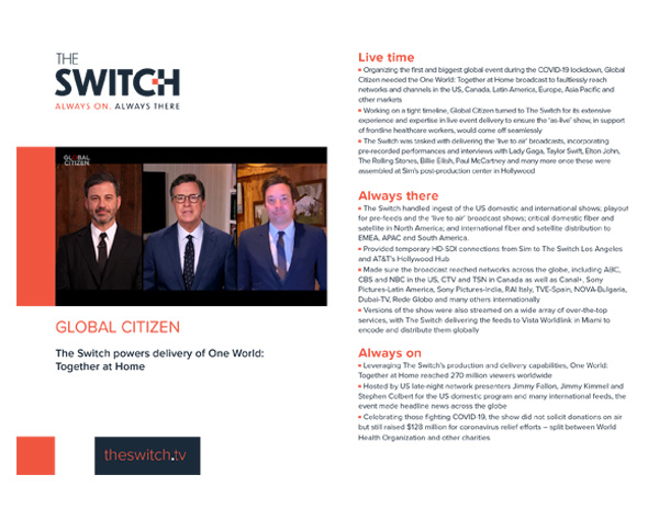The Switch Case Studies Global Citizen