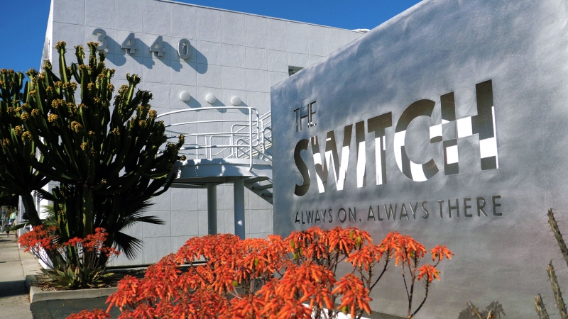 The Switch Live Production Studios Los Angeles Sign