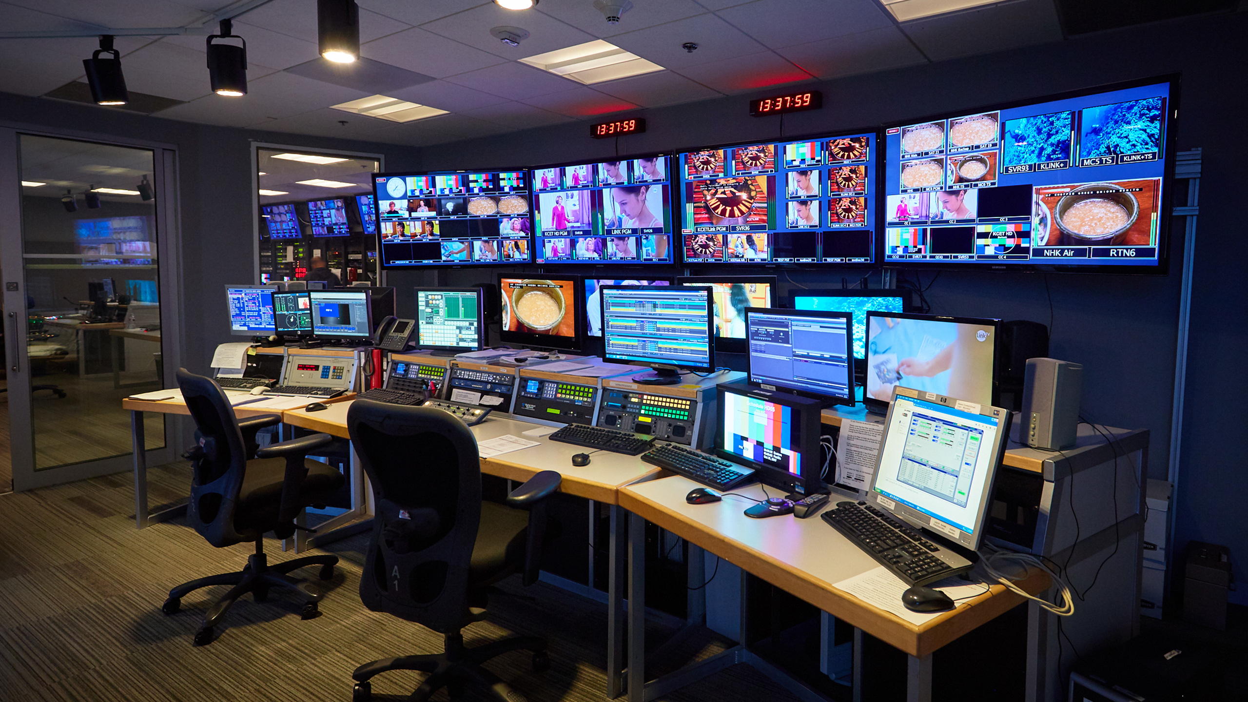The Switch - TV - Studios - Production Control Room