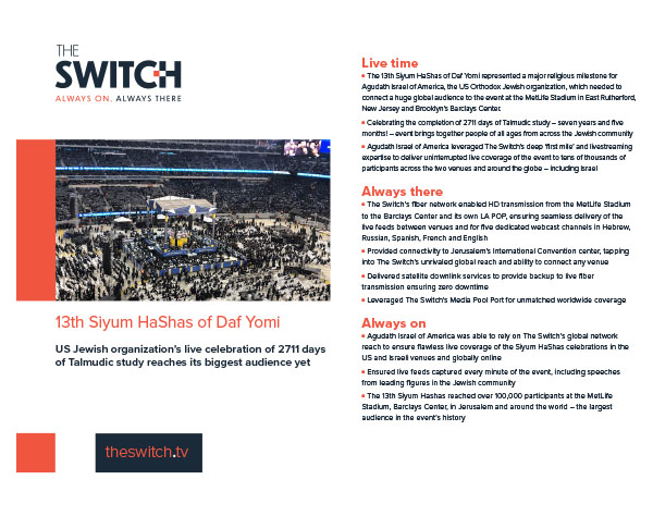 The Switch Case Studies - 3th Siyum