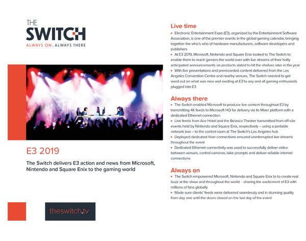 The Switch Case Studies - E3 2019