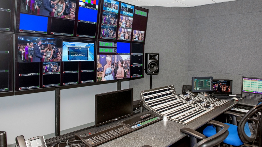 The Switch Tv Live Production Burbank Control Room