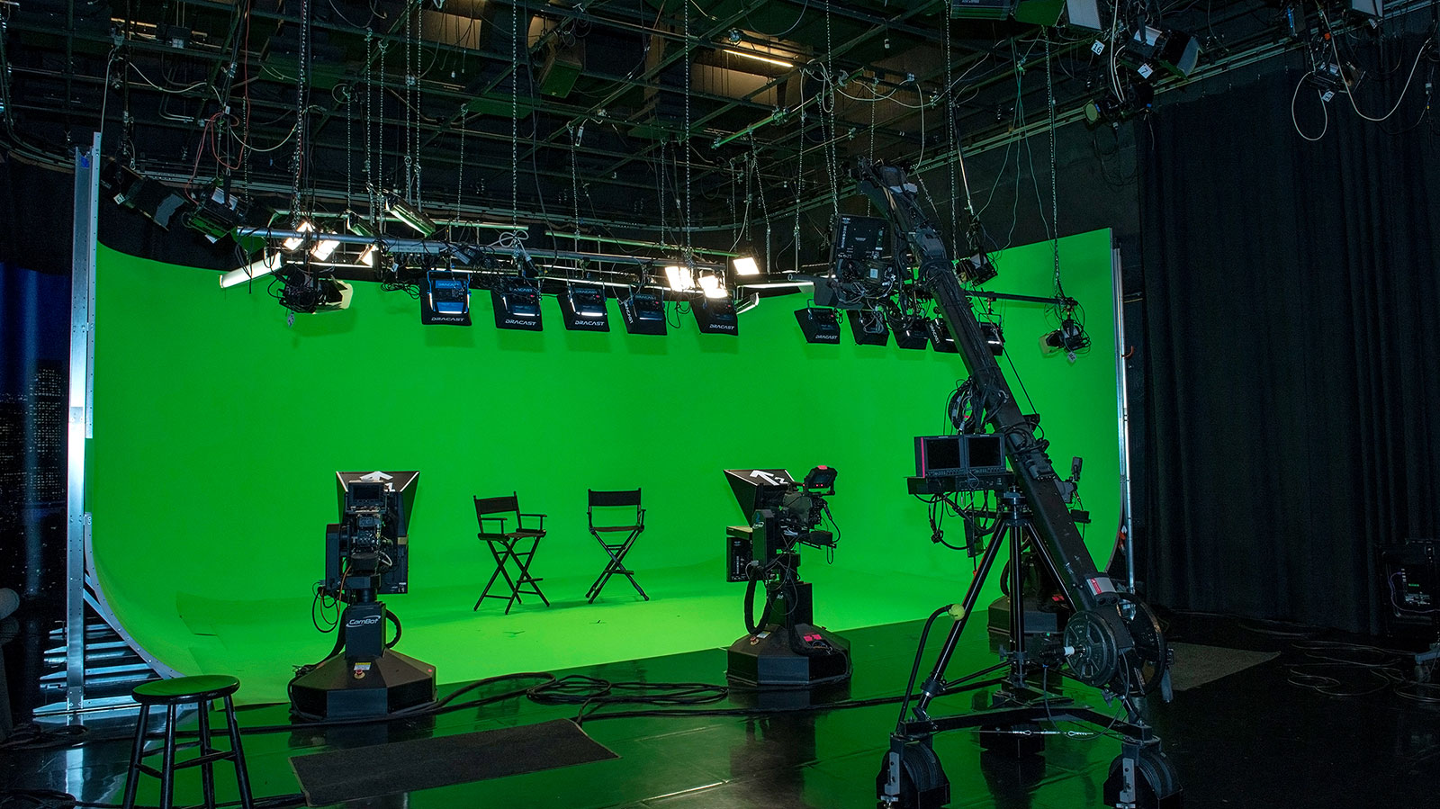 The Switch Tv Studios Burbank Virtual Stage Back View
