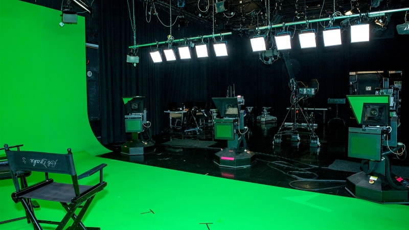 The Switch Tv Studios Burbank Virtual Stage Front View