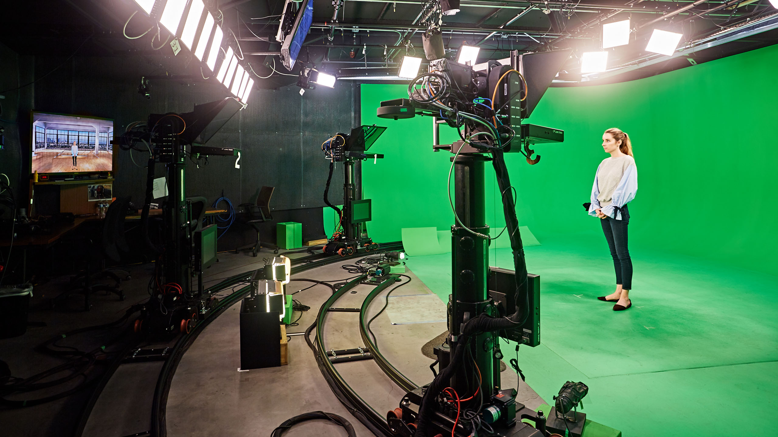 The Switch - TV - Studios - Green Screen